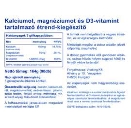 Vitaking CalMag Citrát + D3-vitamin - 90db