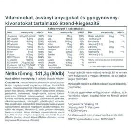 Vitaking Daily One Multivitamin tabletta - 90db