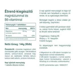 Vitaking Magnézium + B6-vitamin - 90db
