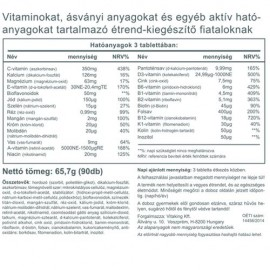Vitaking Mega Tini Multivitamin - 90db