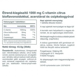 Vitaking C-1000 C-vitamin Bioflavonoiddal 1000mg - 30db