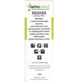 Herbatrend Bodzavirág Tea - 40g