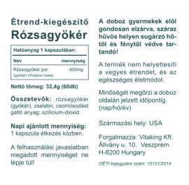 Vitaking Rhodiola Rosea rózsagyökér kapszula - 60db