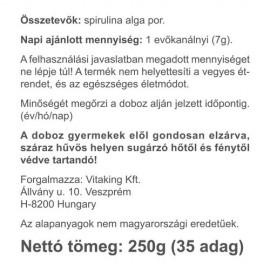 Vitaking Spirulina 500mg Tabletta - 200db