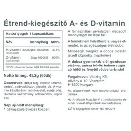 Vitaking A&D vitamin - 60 db