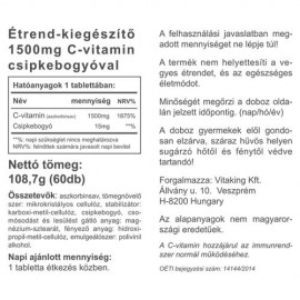 Vitaking C-Vitamin 1500mg Tabletta (60db)