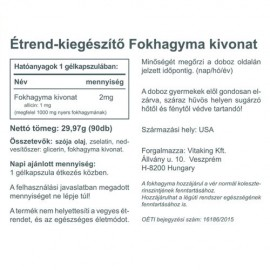 Vitaking Fokhagymaolaj kapszula- 90db