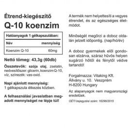 Vitaking Koenzim Q10 60mg kapszula - 60db
