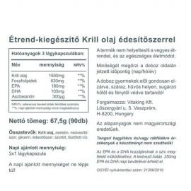 Vitaking Vitakrill olaj - 90 db