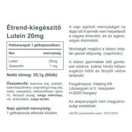 Vitaking Lutein - 60 db