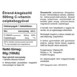 Vitaking C vitamin - 500mg - 100 db