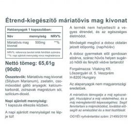 Vitaking Máriatövis - DUPLA CSOMAG KEDVEZMÉNNYEL!