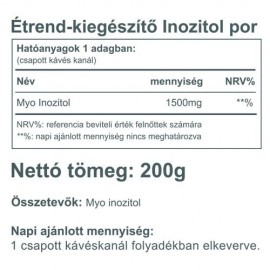 Vitaking Myo Inositol 200g (100%)