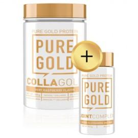 CollaGold Marha és Hal kollagén italpor hialuronsavval - 300g (7 ízben) + Joint Complex 90 caps csomagajánlat